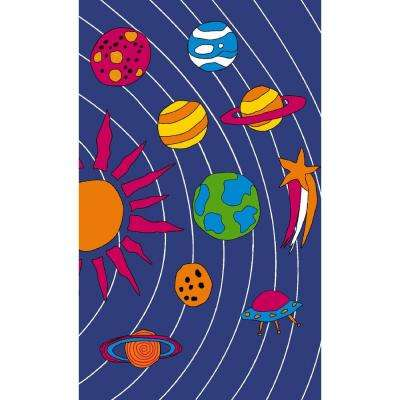 Universe Multi 4 ft. x 7 ft. Indoor Area Rug