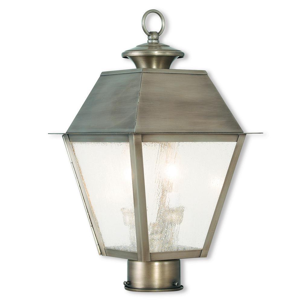 Vintage Outdoor Lamp Post Kerosene Lamp Meaning Large Lamp