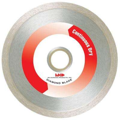 4 in. Continuous Dry General-Purpose Diamond Saw Blade