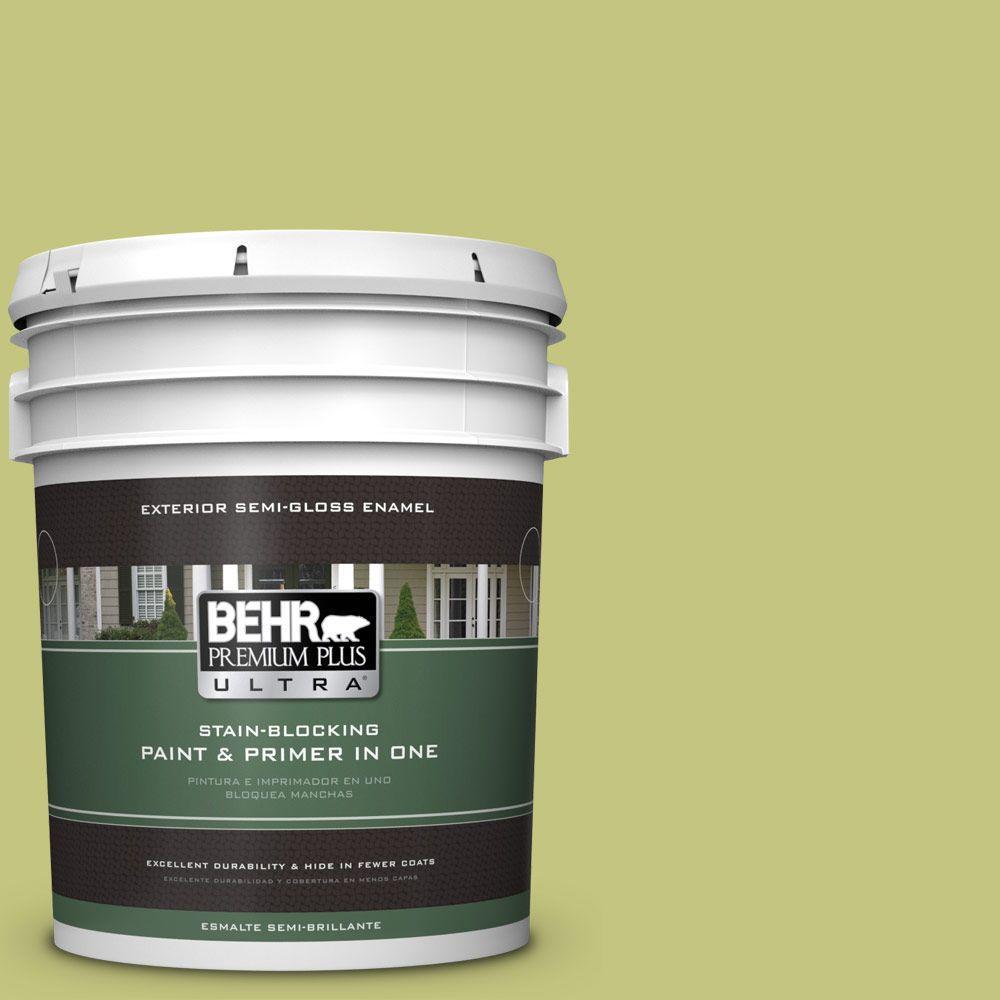 5-gal. #P360-4 Soda Pop Semi-Gloss Enamel Exterior Paint