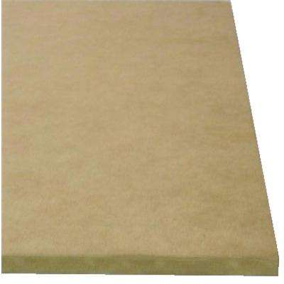 Medium Density Fiberboard (Common: 3/4 in.x 2 ft. x 4 ft.; Actual: 0.734 in. x 23.75 in. x 47.75 in.)