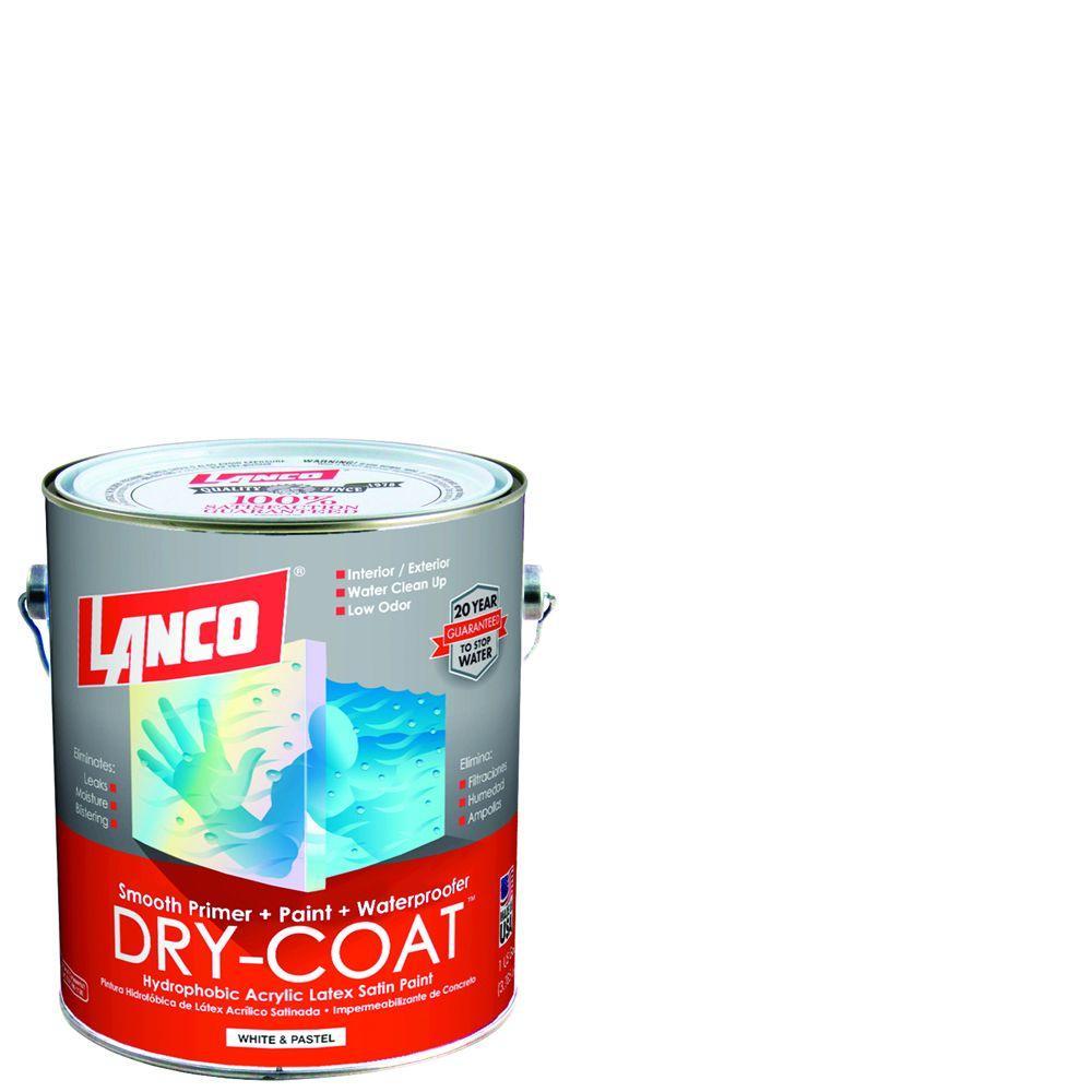 Dry-Coat 1 gal. Deep Satin Acrylic-Latex Interior and Exterior Smooth Masonry