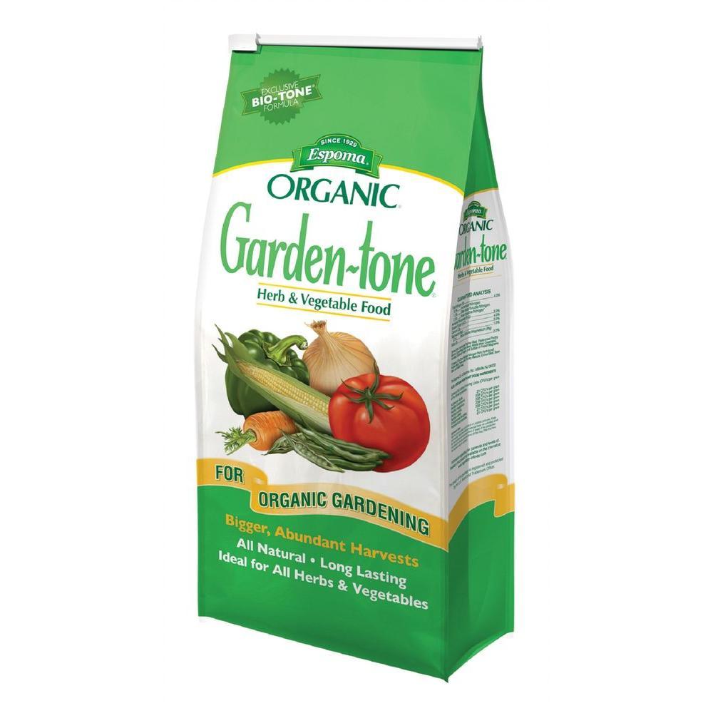 Espoma 27 lb. Organic Garden Tone Herb and Vegetable Fertilizer