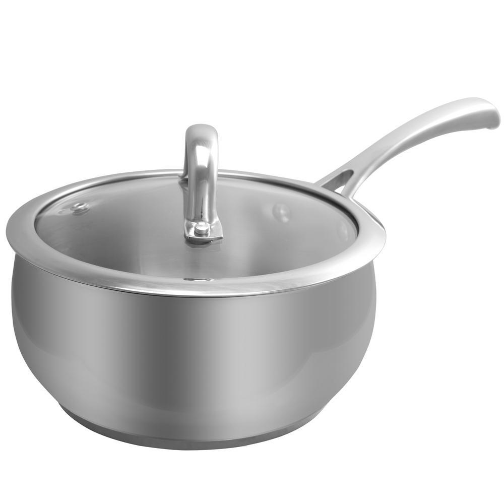Derrick 2 Qt. Sauce Pan with Lid