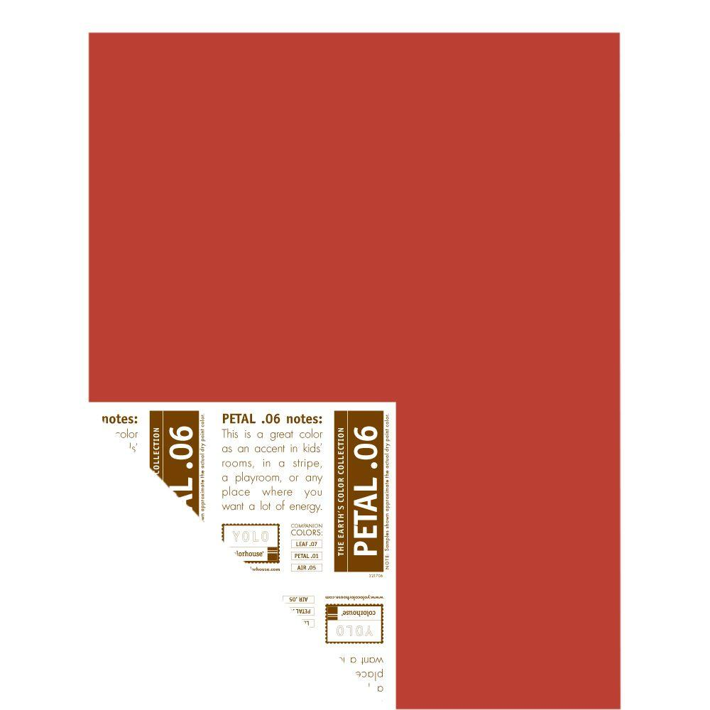 YOLO Colorhouse 12 in. x 16 in. Petal .06 Pre-Painted Big Chip Sample