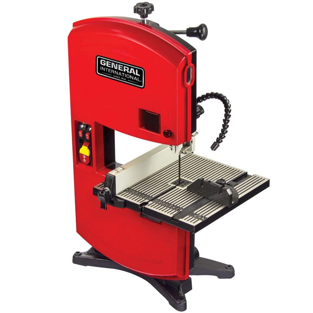 General International 2 5 Amp 9 In Wood Cutting Band Saw