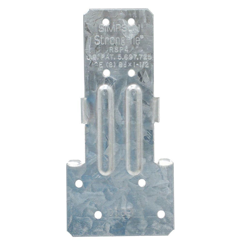 20-Gauge 2X Reversible Stud Plate Tie