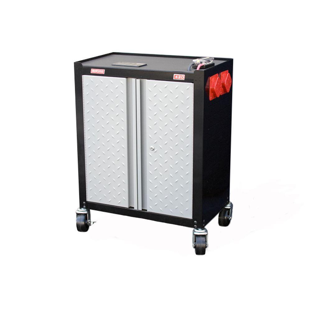 Geneforce 1,500-Watt (4,500-Watt Surge) Battery Based Emergency 120 VAC Power System