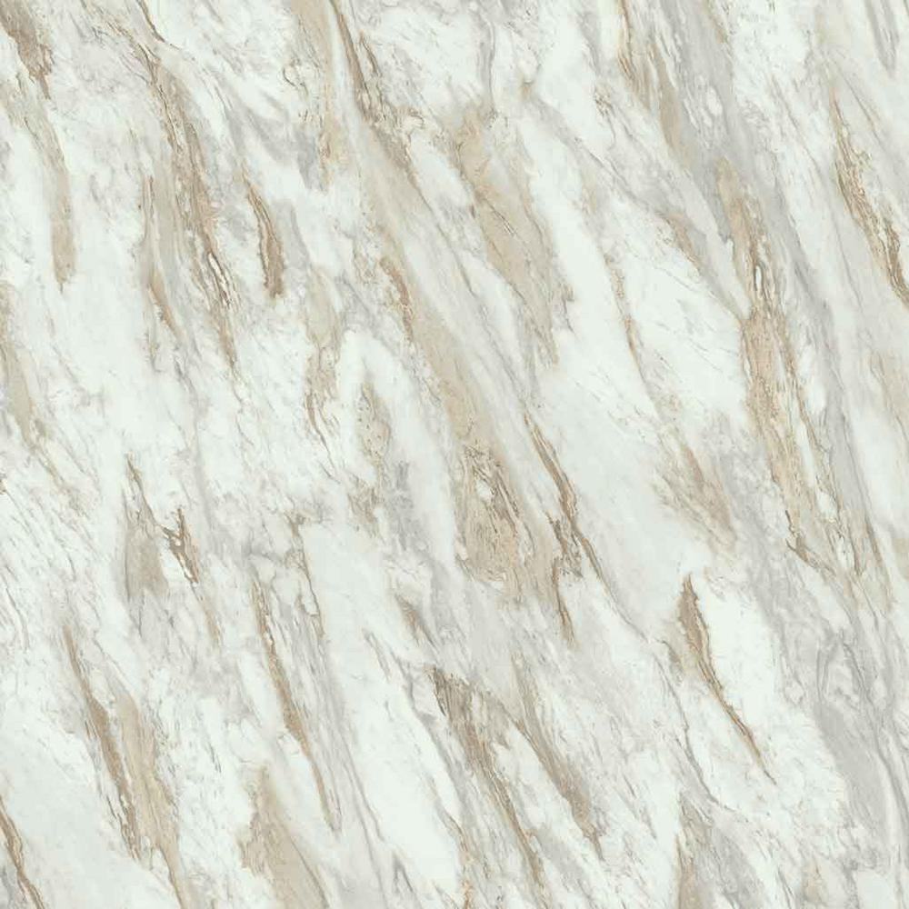 2 in. x 3 in. Laminate Countertop Sample in Drama Marble