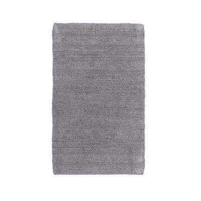 Silver Multi Chain 22 in. x 60 in. Reversible Bath Rug