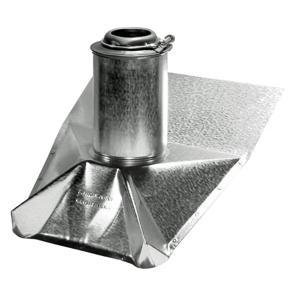 Galvanized Steel Vent Pipe Flashing 4   The Home Depot