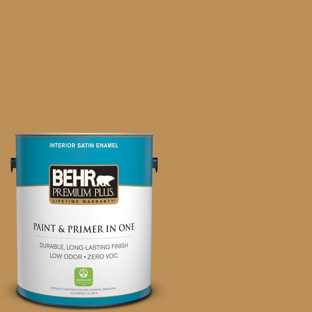 1 gal. #MQ4-7 Radiance Satin Enamel Zero VOC Interior Paint and