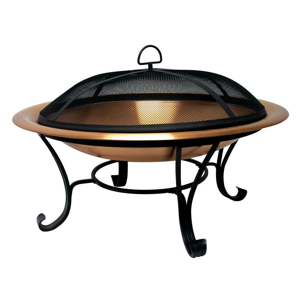 Catalina Creations 35 in. Copper Fire Pit-AD115 - The Home Depot
