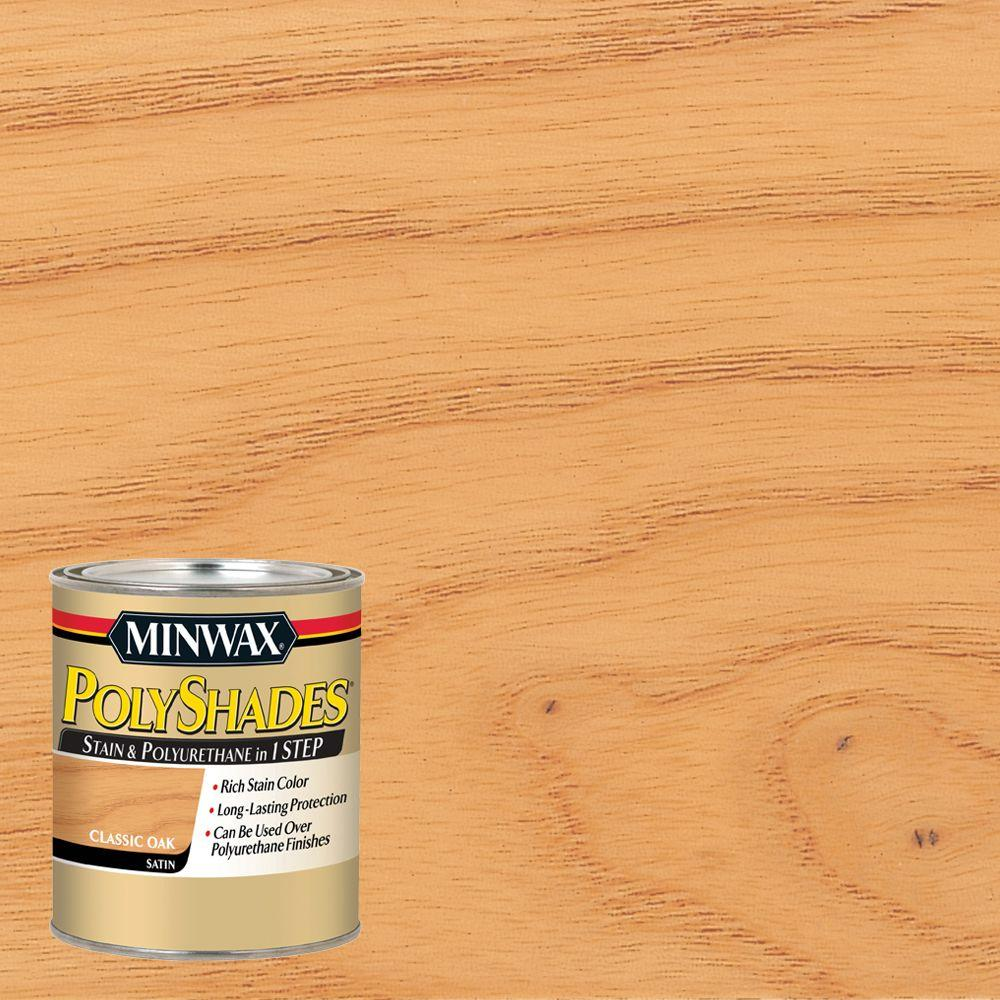 Minwax 1 Qt Wood Finish Golden Oak Oil Based Interior Stain 70001 The Home Depot