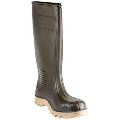 Men's Size 11 Brown Barnyard Rubber Boot