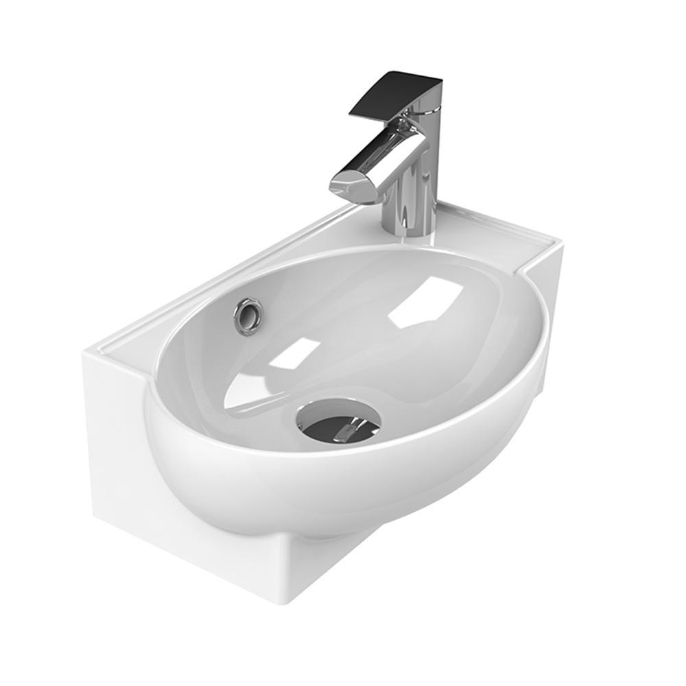 Nameeks Mini Vessel Sink In White Cerastyle 001300 U One