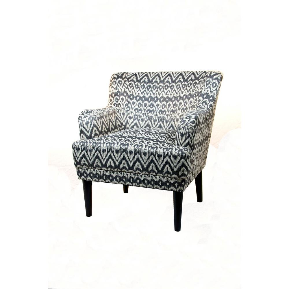 Home Decorators Collection Vincent Driftwood 31.25 in. W Arm Chair