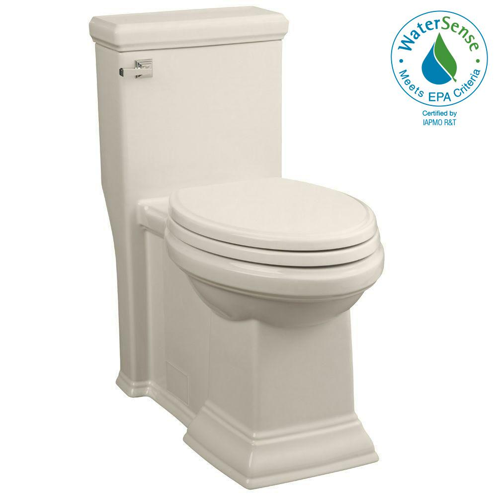 Town Square LXP Tall Height 1-piece High-Efficiency 1.28 GPF Single Flush