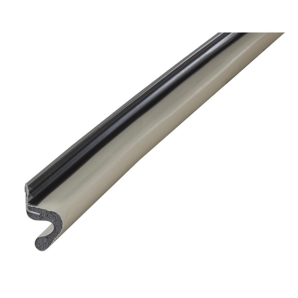 1 in. x 81 in. Beige Vinyl-Clad Replacement Weatherstrip