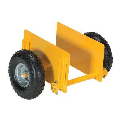 600 lb. Adjustable Panel Dolly with Foam Filled Wheels
