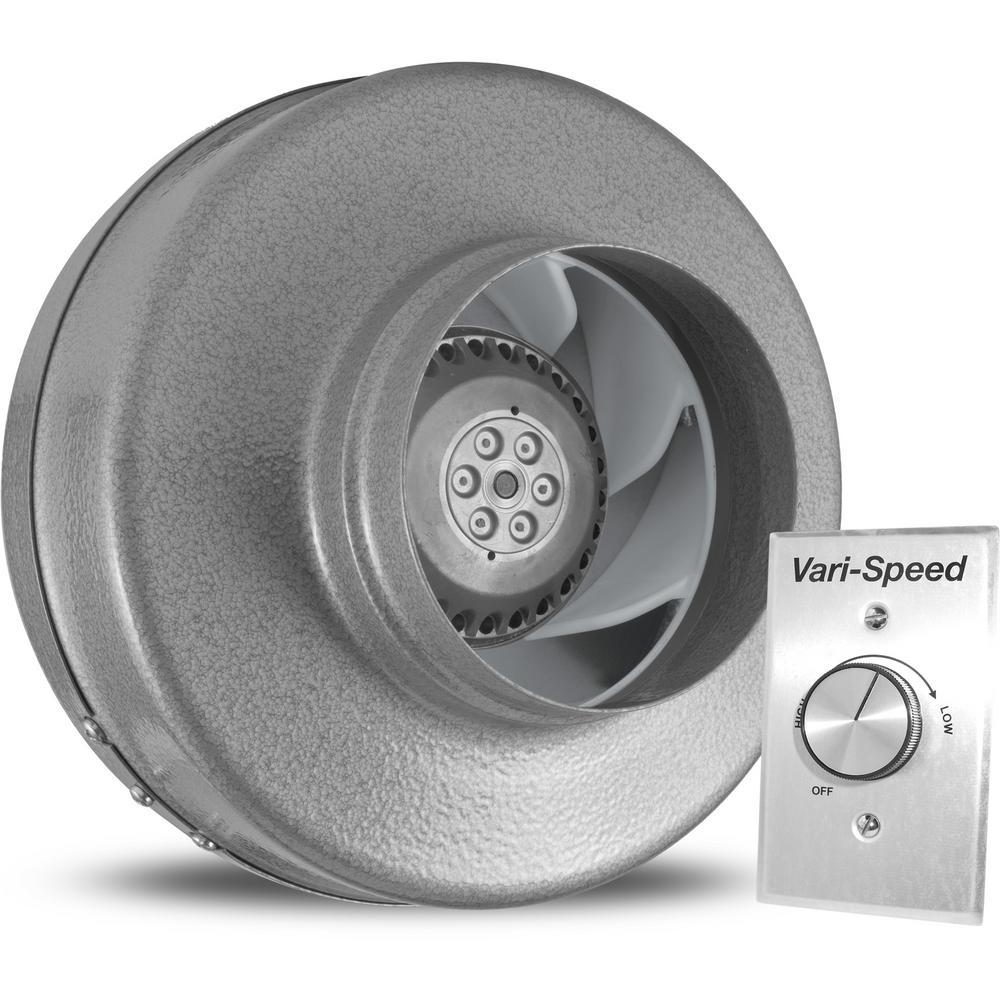 Powerfan 5 in. 255 CFM Inline Fan with Vari-Speed Kit
