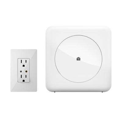 Smart Home Control Kit with Wink Hub and Leviton In-Wall Receptacle
