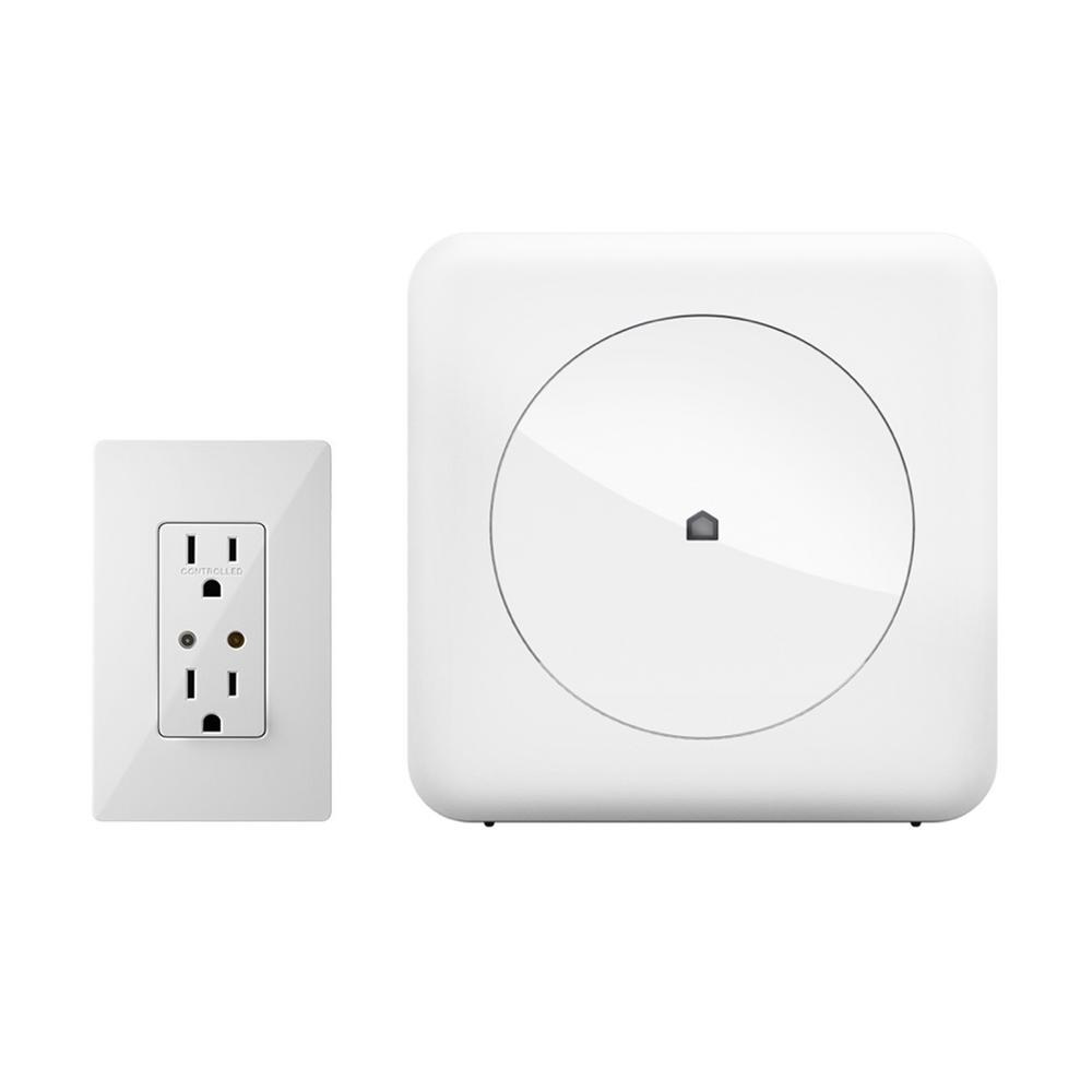 Wink Smart Home Control Kit with Wink Hub and Leviton In-Wall ...