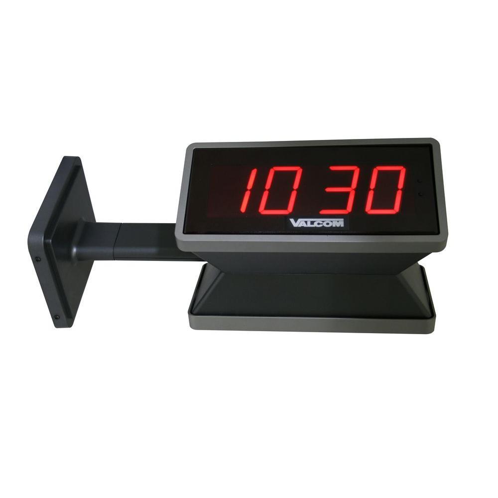 IP PoE 4.0 in. (4) Digit Digital Clocks (Double Sided)
