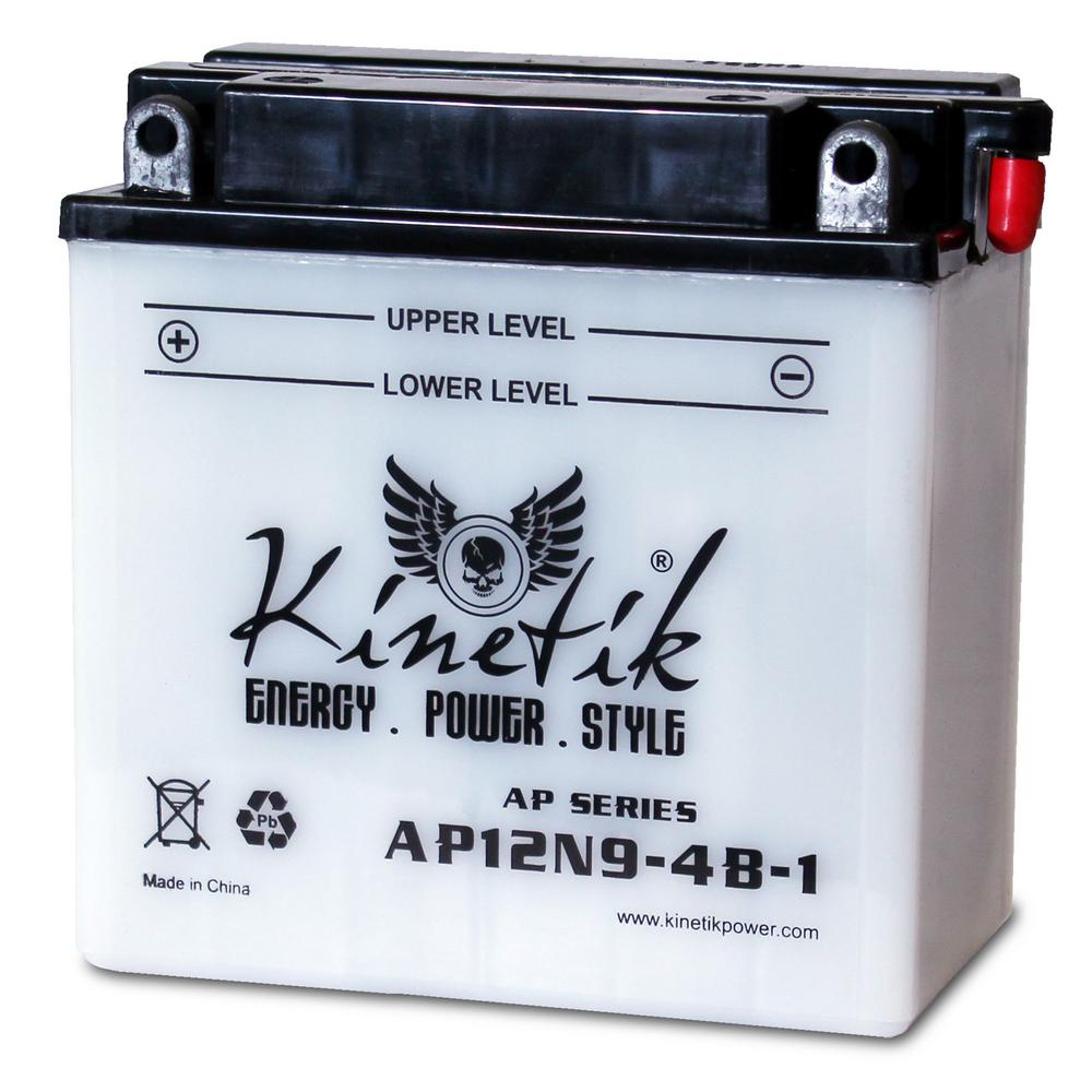 UPG Conventional Wet Pack 12-Volt 9 Ah Capacity F Terminal Battery