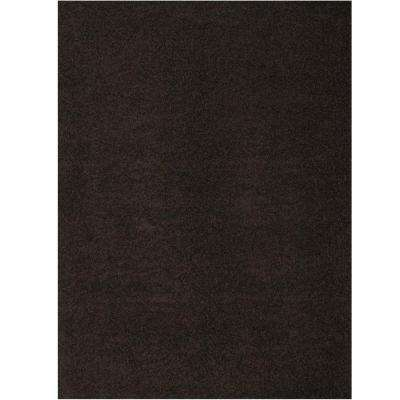 Domino Black 5 ft. 3 in. x 7 ft. 6 in. Area Rug