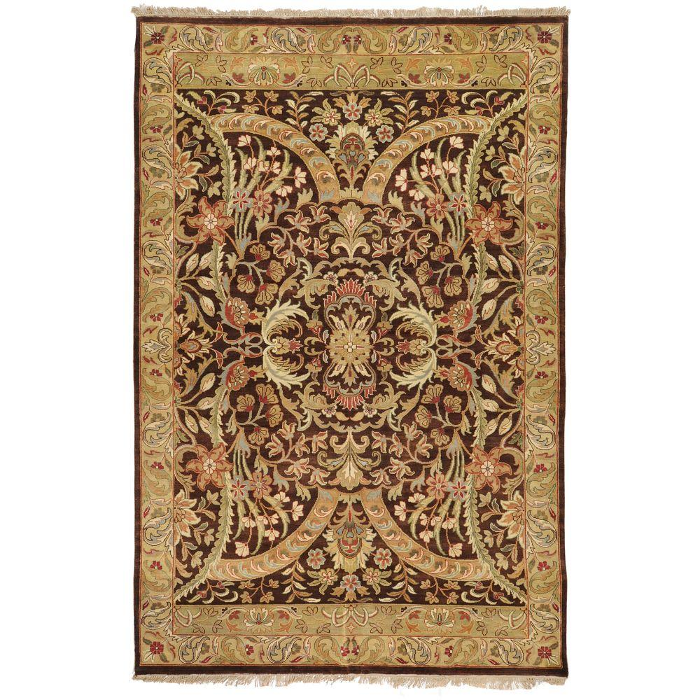 Artistic Weavers Stratham Brown 7 ft. 9 in. x 9 ft. 9 in. Area Rug