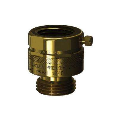 3/4 in. x 3/4 in. Brass Add-On Hose Connection Vacuum Breaker