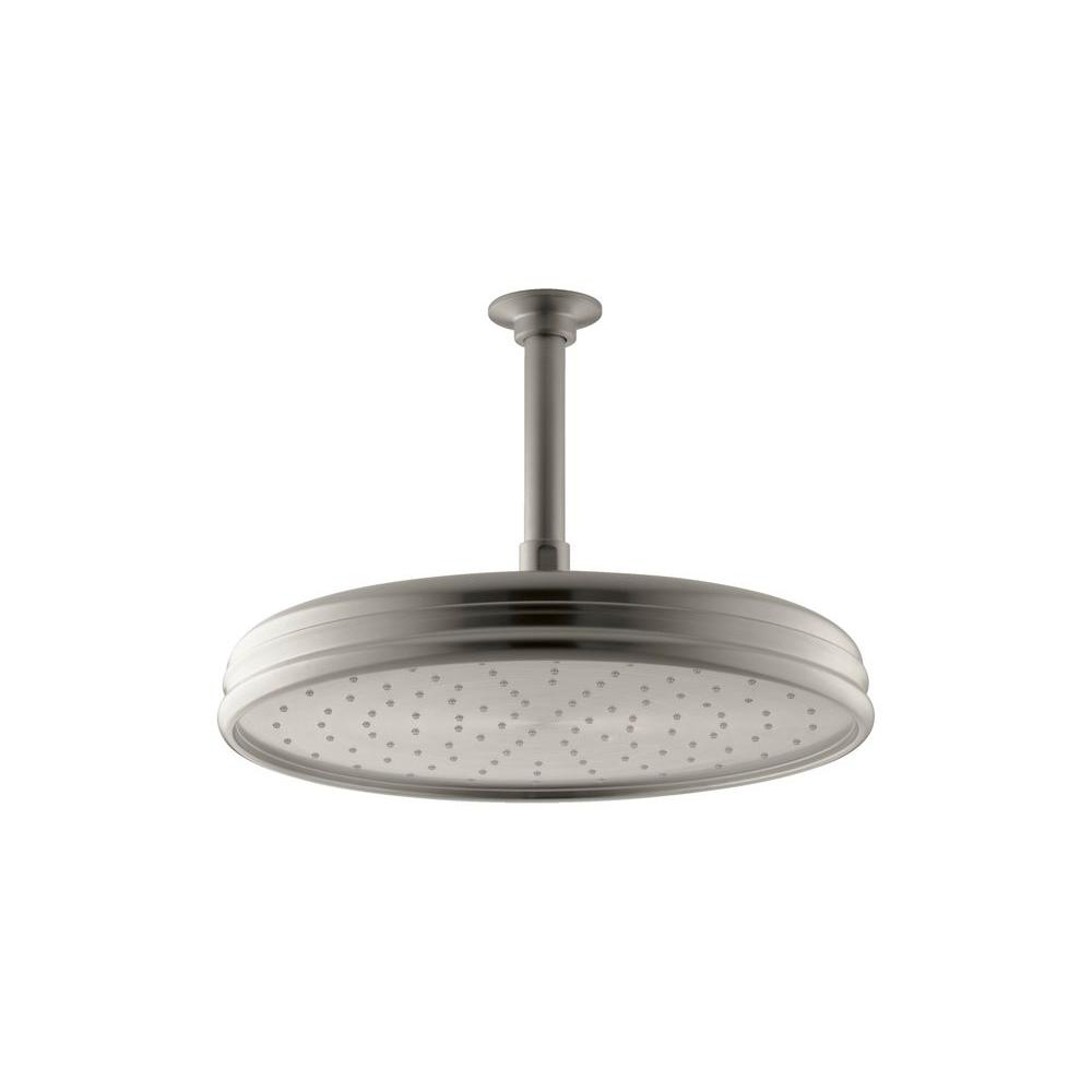 Kohler 1 Spray Single Function 12 In Traditional Round Rain