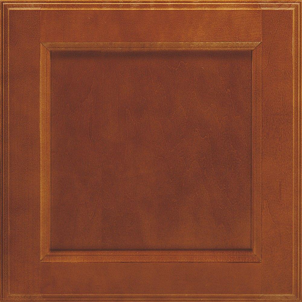 Thomasville 14.5x14.5 In. Cabinet Door Sample In Linden Brierwood