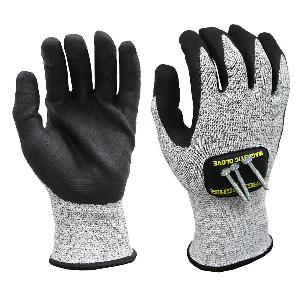 Large Cut Resistant Magnetic Gloves with Touchscreen