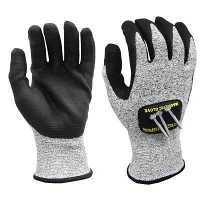 Large Cut Resistant Magnetic Gloves with Touchscreen Technology