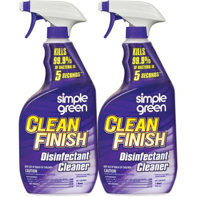 32 oz. Clean Finish Disinfectant Cleaner (Case of 2)