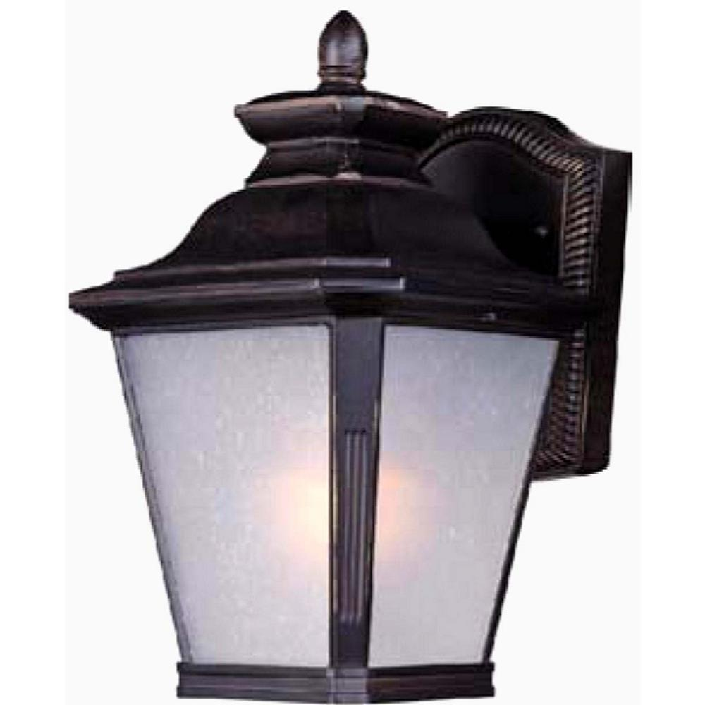 Maxim lighting knoxville 7 in w 1 light bronze outdoor wall mount sconce