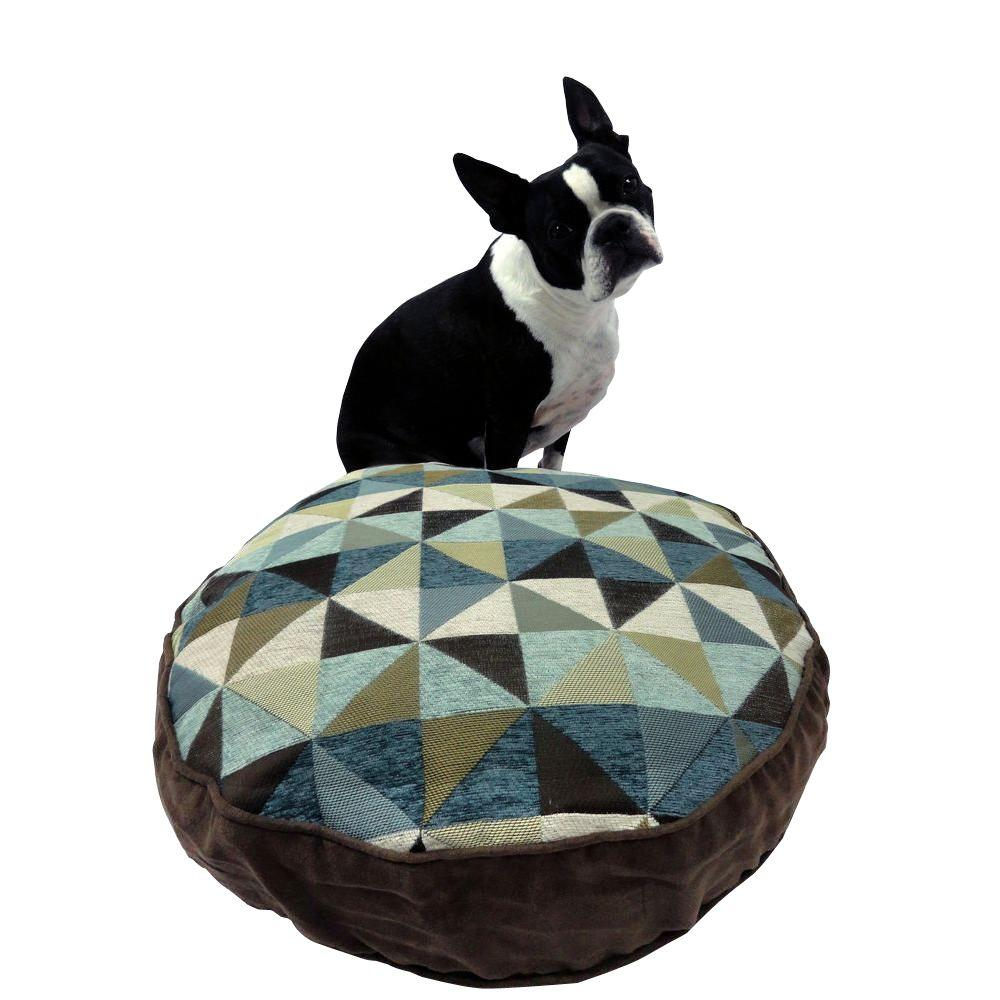 Home Fashions International Small Windmill Spa/Chocolate Pet Bed-DISCONTINUED