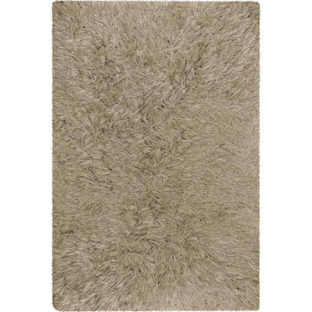 Chandra Celecot Taupe 5 ft. x 7 ft. 6 in. Indoor Area Rug