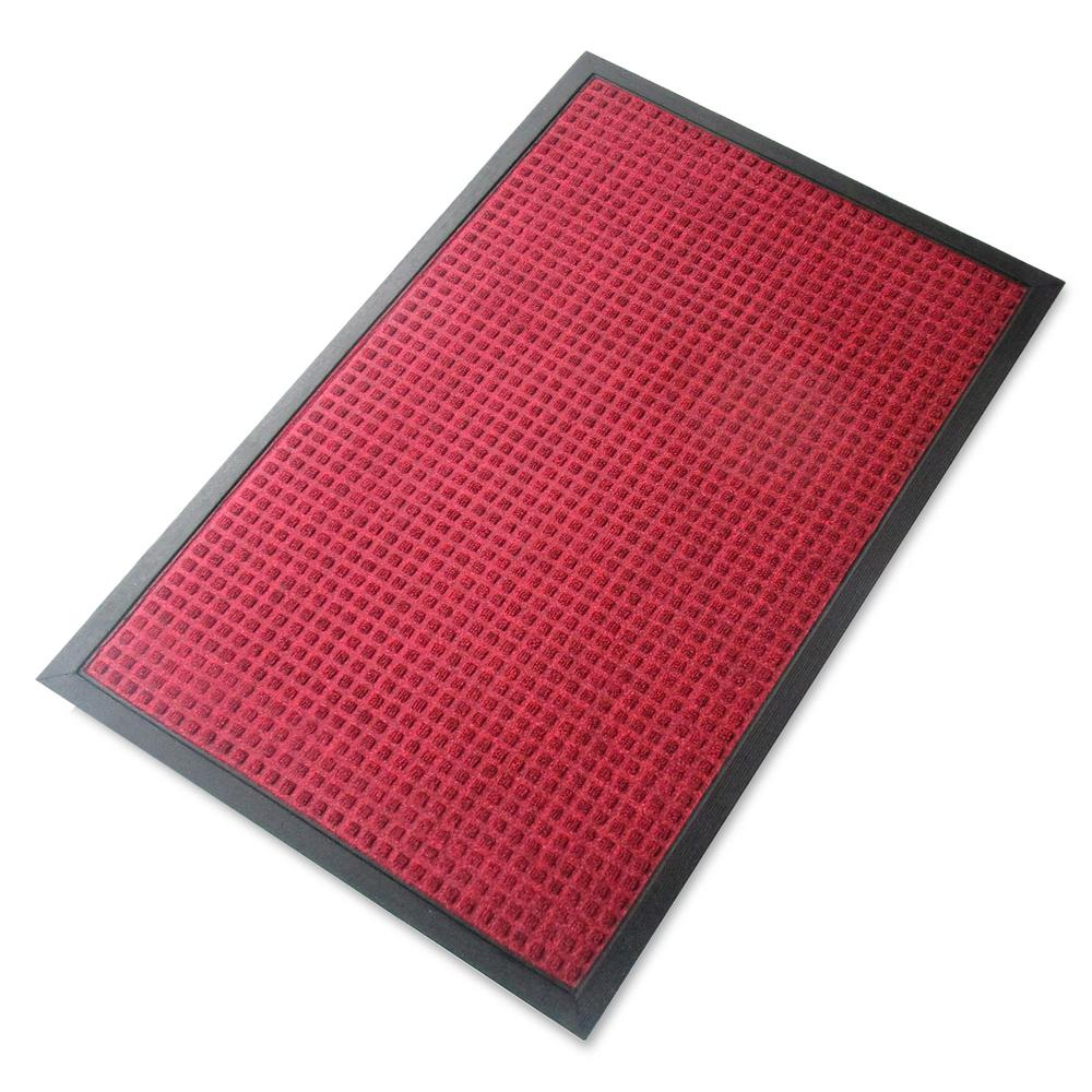 A1HC Rub Poly Multi Utility Red Indoor/Outdoor 24 In. X 36 In
