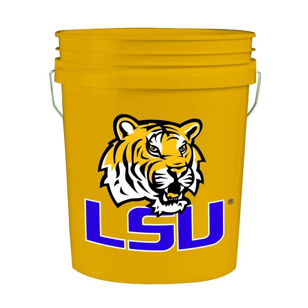 LSU 5-gal. College Bucket (3-Pack)-2841412-3 - The Home Depot