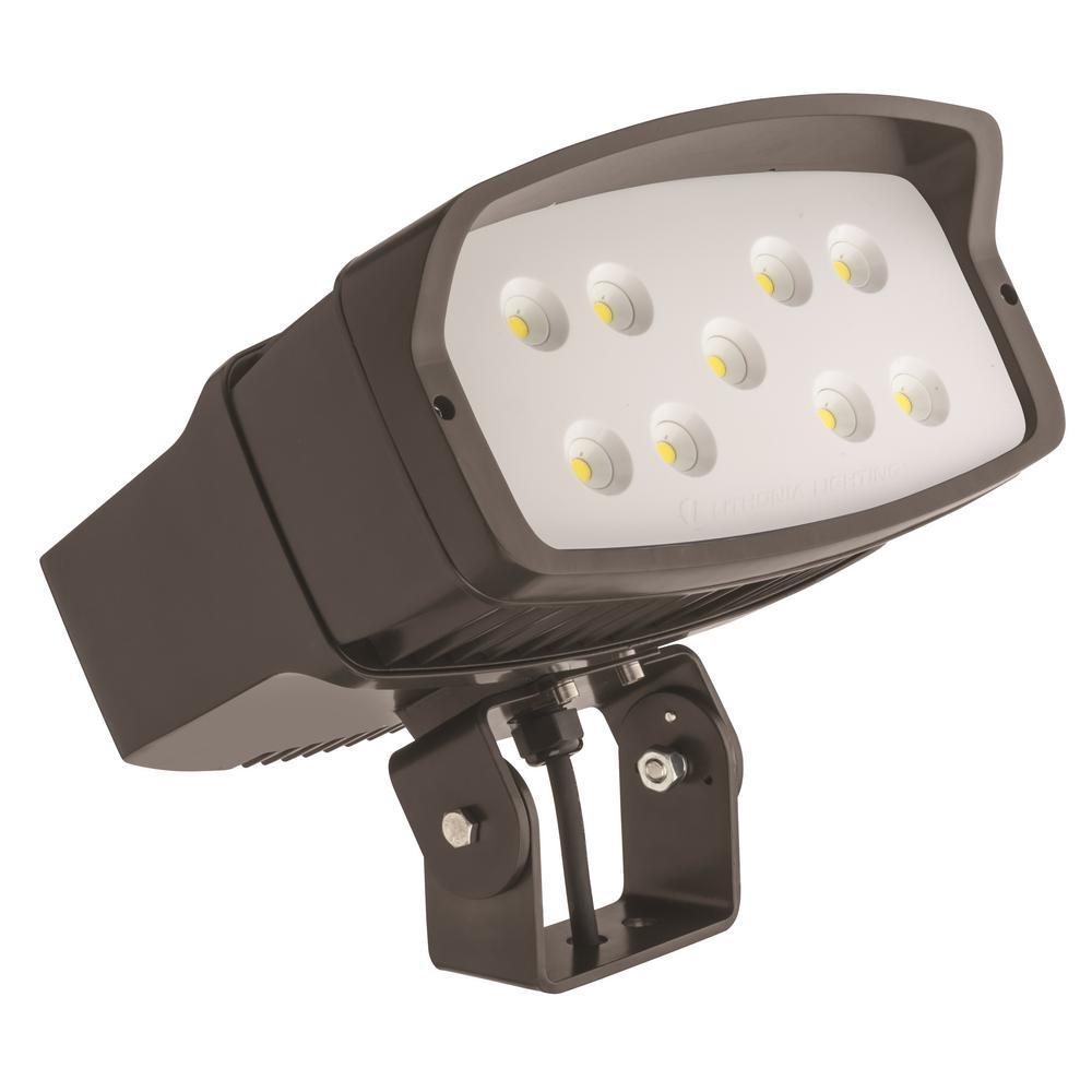 OFL2 Low-Voltage Bronze LED Landscape Flood Light