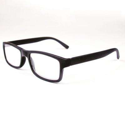 Reading Glasses Retro Black 2.5 Magnification