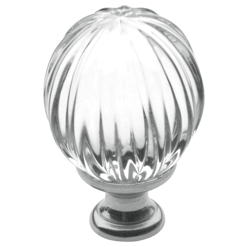 Baldwin 1-3/16 in. Polished Chrome Round Cabinet Knob
