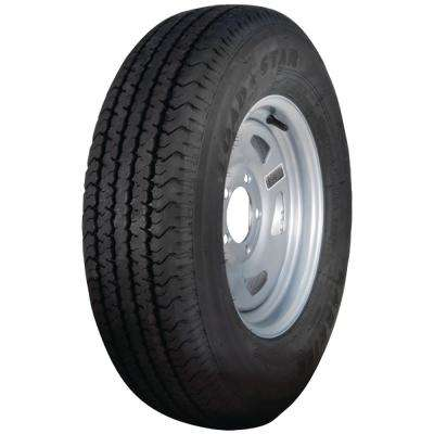 ST205/75R-14 KR03 Radial 1760 lb. Load Capacity Silver 14 in. Bias Tire and Wheel Assembly