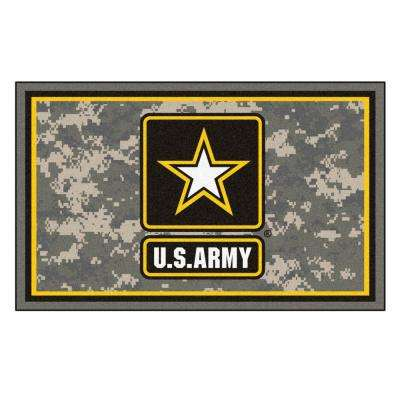 U.S. Army 4 ft. x 6 ft. Area Rug