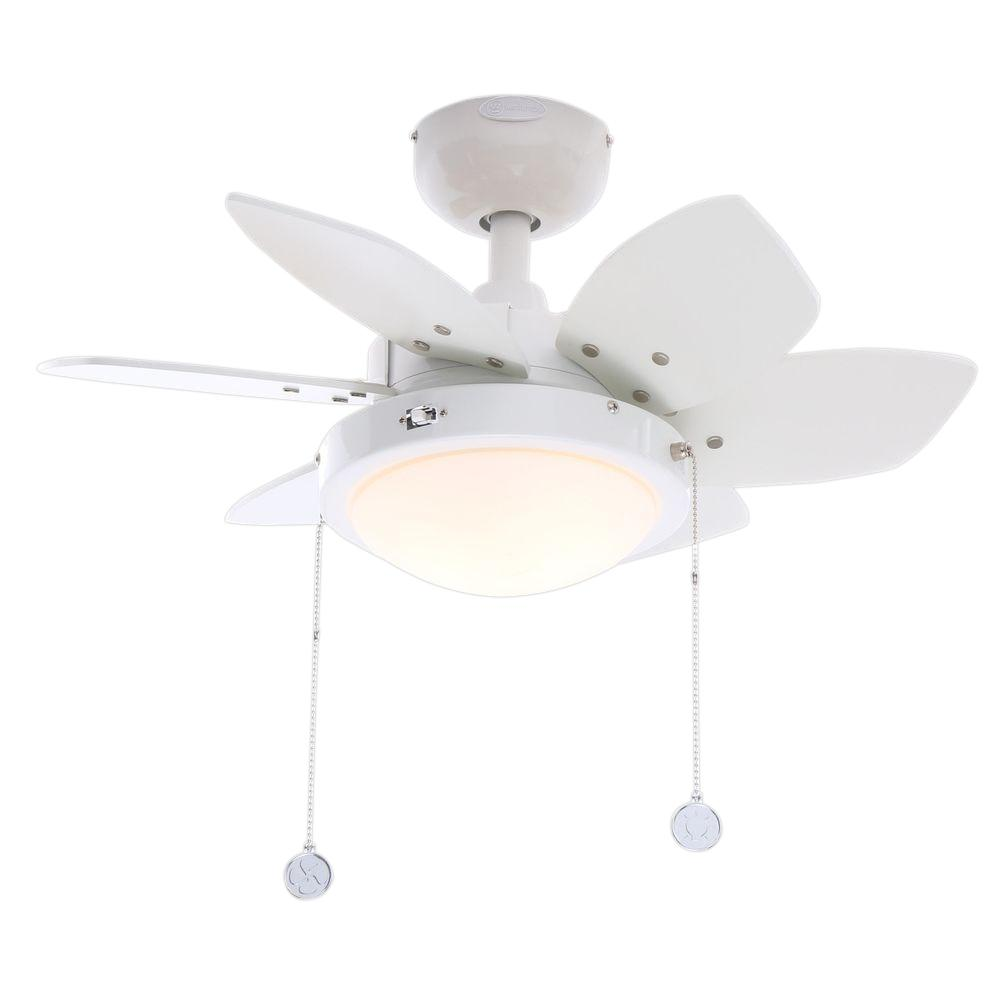 Westinghouse Quince 24 In. Indoor White Finish Ceiling Fan