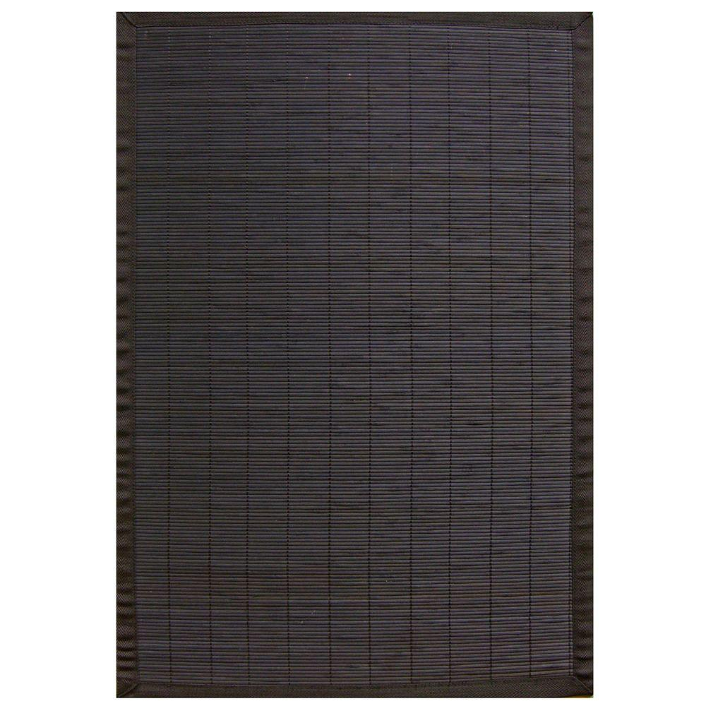Anji Mountain Villager Ebony Black 2 ft. x 3 ft. Area Rug