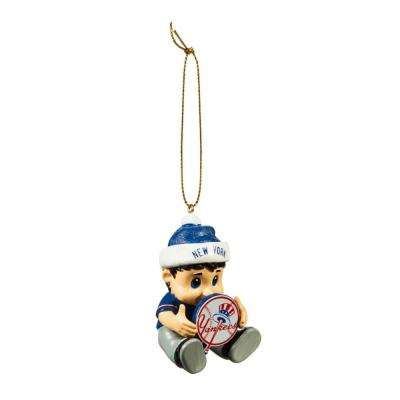 New York Yankees 2 in. MLB New Lil Fan Christmas Ornament